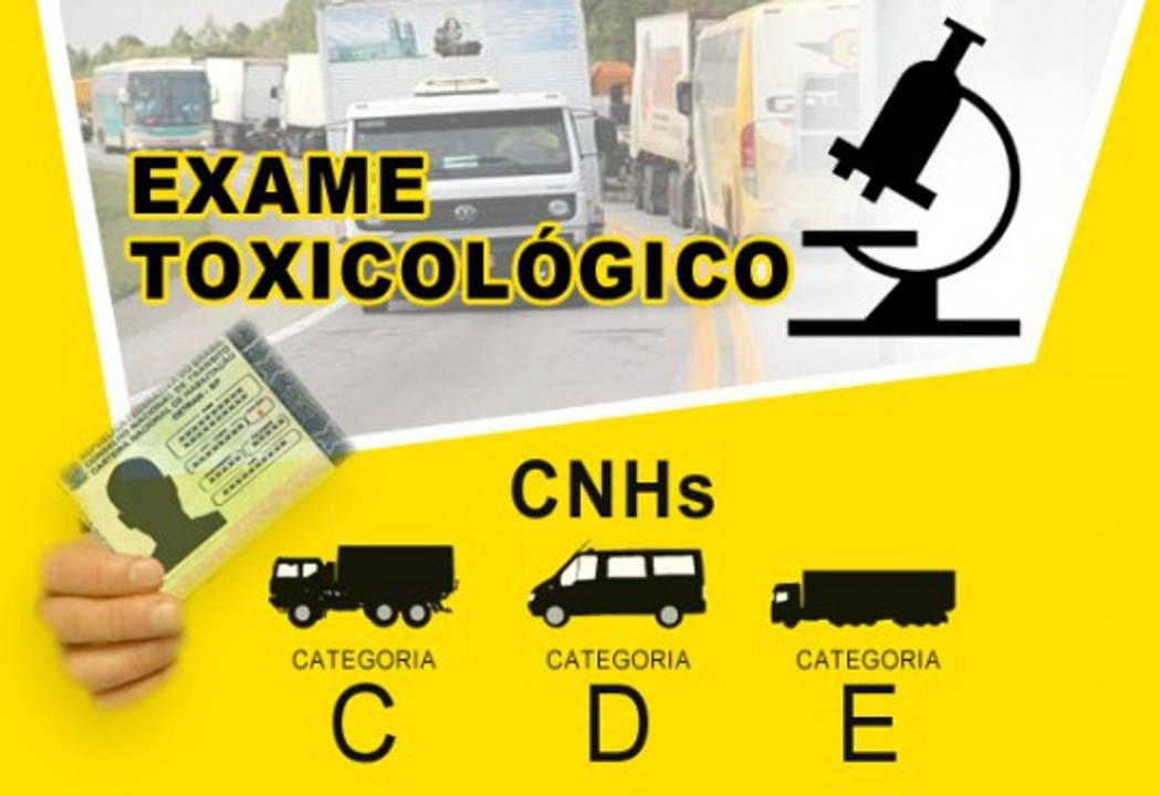 Exame toxicologico brasilia