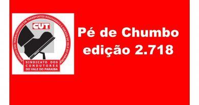 Pé de Chumbo edição 2.718 (Urbano I – Posse da Diretoria – Caçapava)