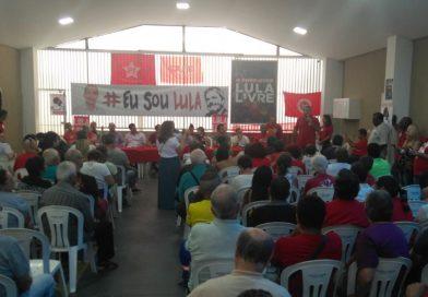 Sindicato recebe plenária em defesa da democracia e de Lula