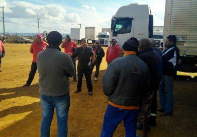 Paralisação na GM Costa em Jacareí