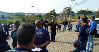 Paralisação na TRTV em Taubaté