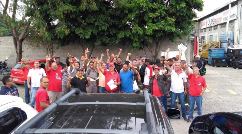 Fim da paralisação na TFA (Coca-Cola) em São José