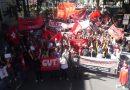 Ato no centro de S. José contra a reforma da previdência