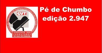 Pé de Chumbo edição 2.947 (Acordo Panco (Taubaté))