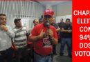 Chapa 1 eleita com 94% dos votos!!!