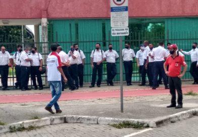 Paralisação na JTU em Jacareí