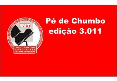 Pé de Chumbo edição 3.011 (Acordo Cervejaria Petrópolis (S. José, Taubaté e Lorena))