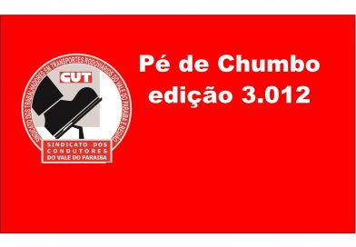 Pé de Chumbo edição 3.012 (Acordo Panco (Taubaté))