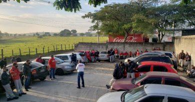 Protesto na TFA de São José dos Campos