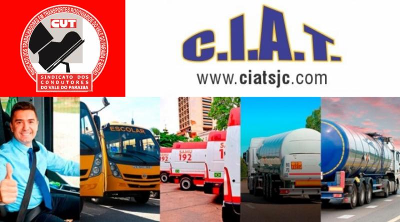 Sindicato fecha parceria com CIAT de São José para curso de atualização para motoristas